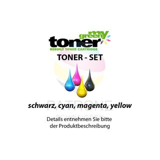 my green toner SET ersetzt Brother TN-328 (TN-328BK, TN-328C, TN-328M, TN-328Y)