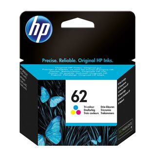 HP 62 (color) Druckerpatrone (C2P06AE)