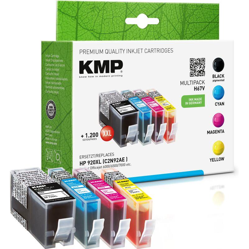 kmp tinte h67v multipack ersetzt hp 920xl 29 99. Black Bedroom Furniture Sets. Home Design Ideas